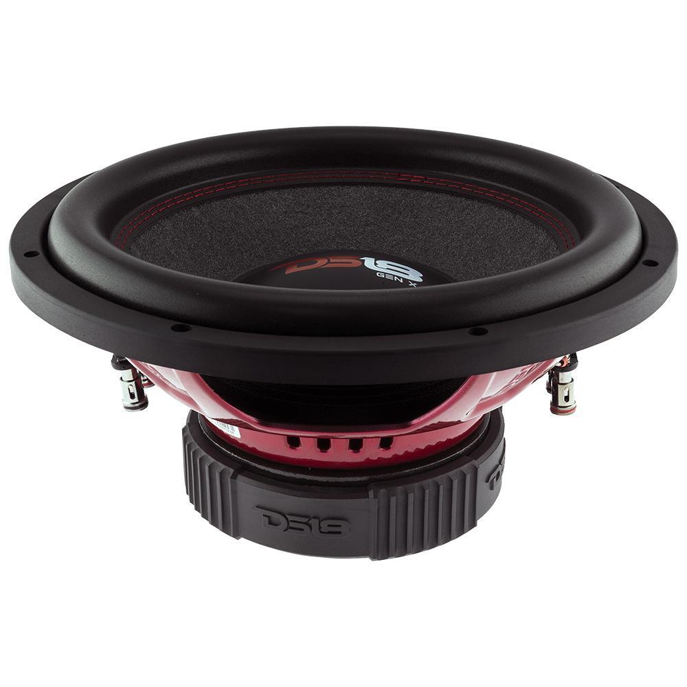 DS18 GEN-X124D In Car Audio 4 Ohm DVC 900 Watt SPL SQ Sub Subwoofer
