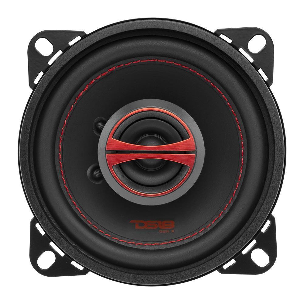 """DS18 GEN-X4 In Car Audio 4"""" Inch 4 Ohm 2 Way Coaxial 120 Watt Speakers"""