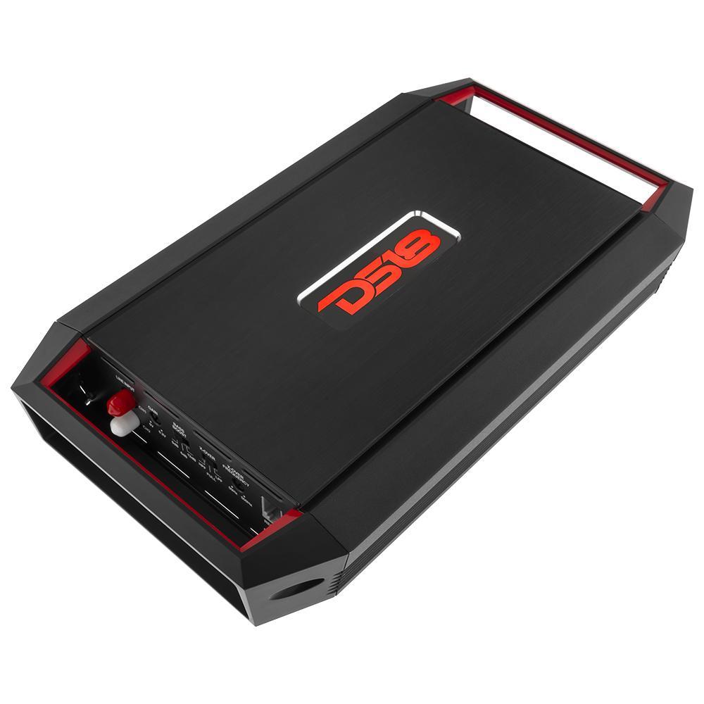 DS18 GEN-X800.2 Car Audio 800 Watt 2 Channel Amplifier Bass Remote Knob Single