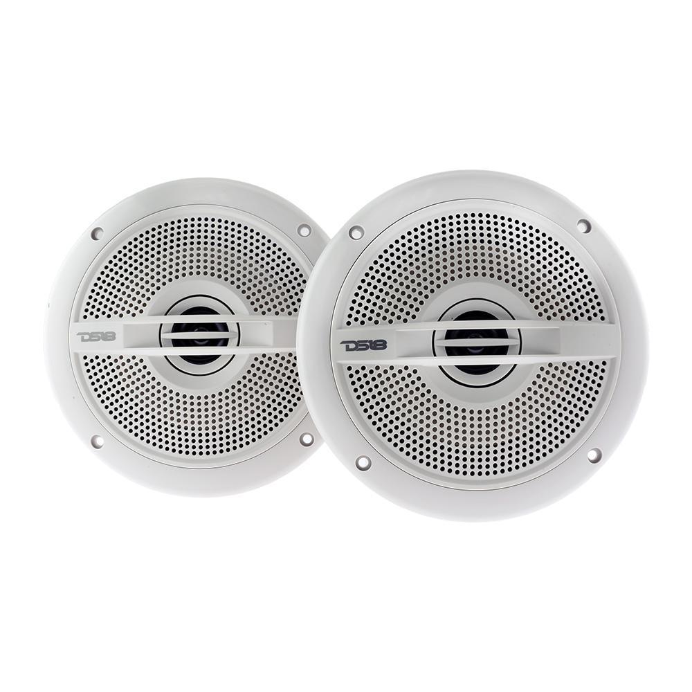 "DS18 HYDRO-65 Marine Audio 6.5"" Inch 380 Watts Water Resistant Speakers"