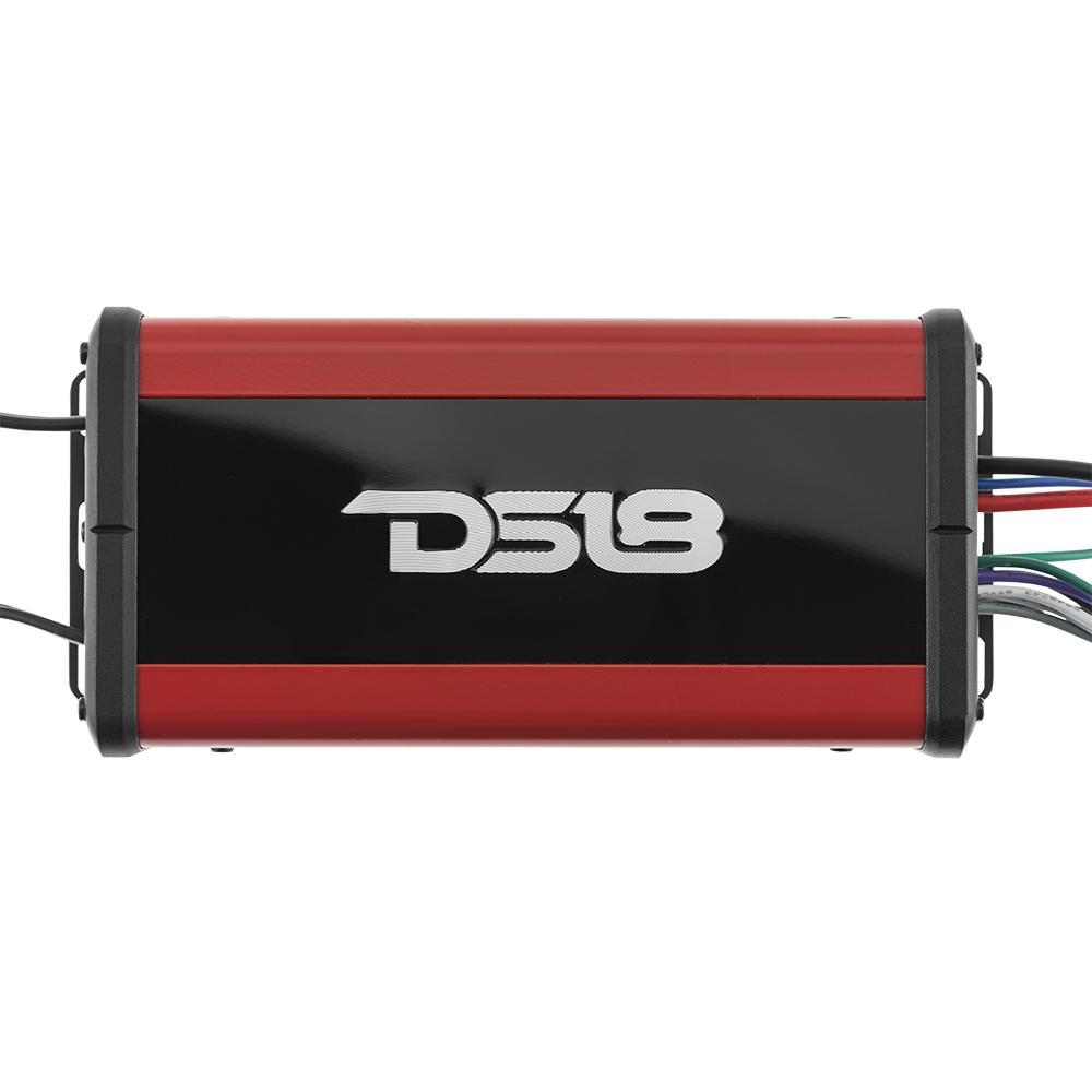 DS18 NXL-N4 In Car Audio 4 Channel 600 Watts Marine Grade Amp Amplifier