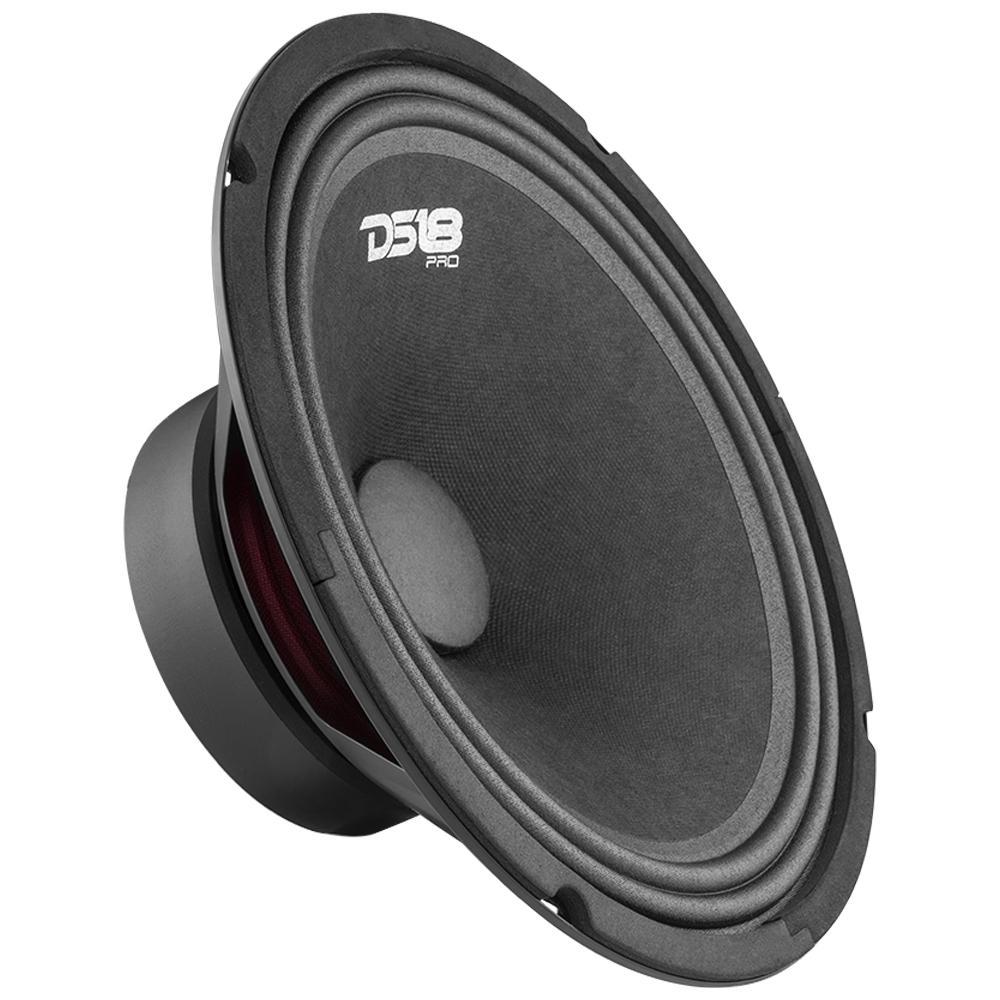 """DS18 PRO-GM10 In Car Audio Mid Range Bass 10"""" Inch 660 Watt 8 Ohm Speaker"""