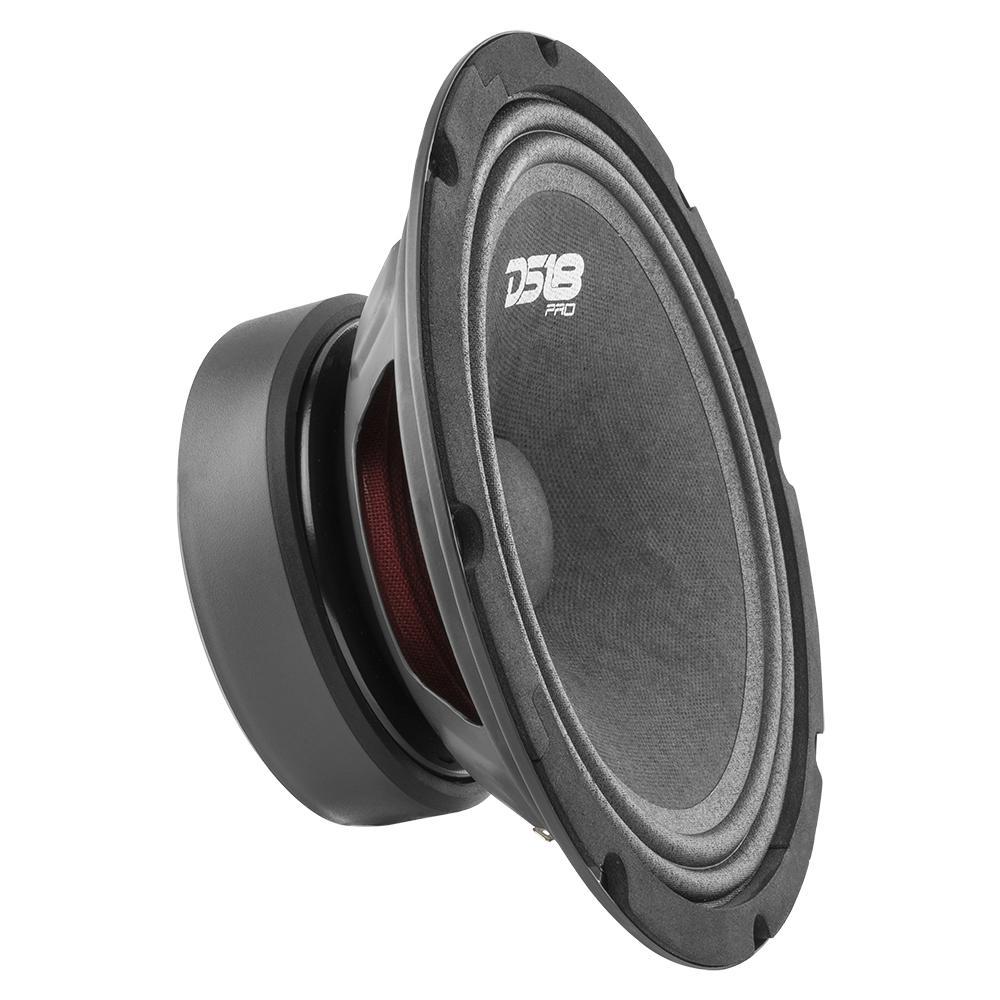 """DS18 PRO-GM8 In Car Audio Mid Range Bass 8"""" Inch 580 Watt 8 Ohm Speaker"""