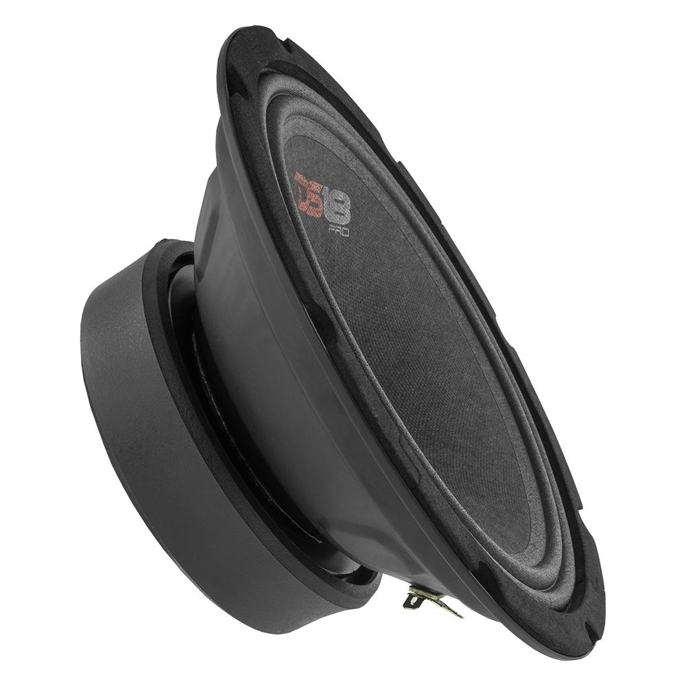 "DS18 PRO-GM8SE In Car Audio Mid Range Bass 8"" Inch 580 Watt 8 Ohm Speaker"