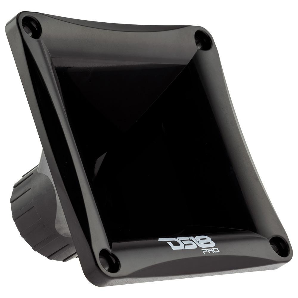 """DS18 PRO-H44/BK In Car Audio Mid Range 1"""" Plastic Black Horn Twist On Speaker"""