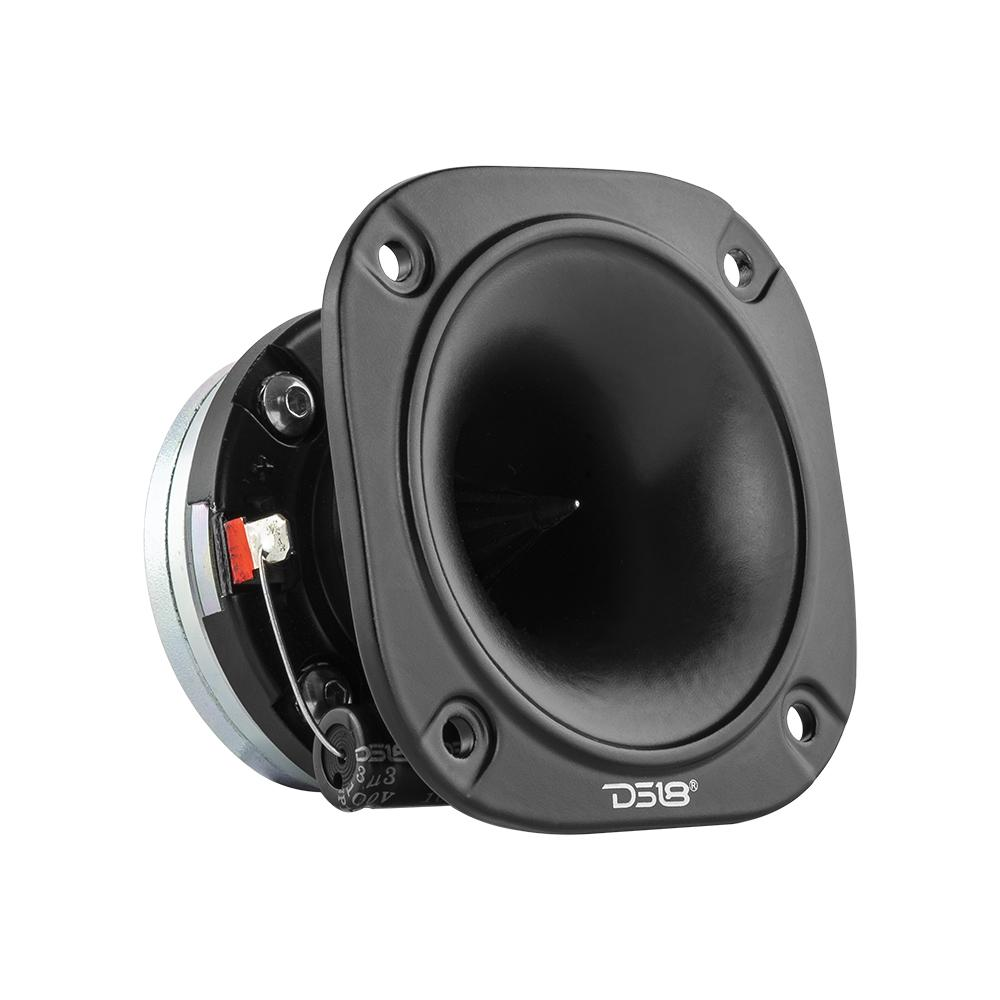 "DS18 PRO-TWN2 In Car Audio 1"" Inch 300 Watt Dash Door Super Bullet Tweeter"