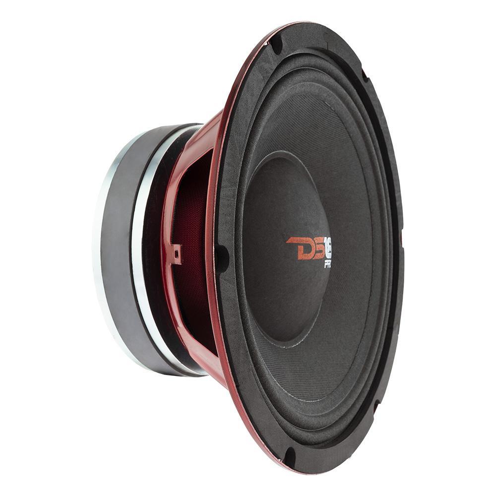 """DS18 PRO-X10MBASS In Car Audio Mid Range Bass 10"""" Inch 800 Watt 8 Ohm Speaker"""