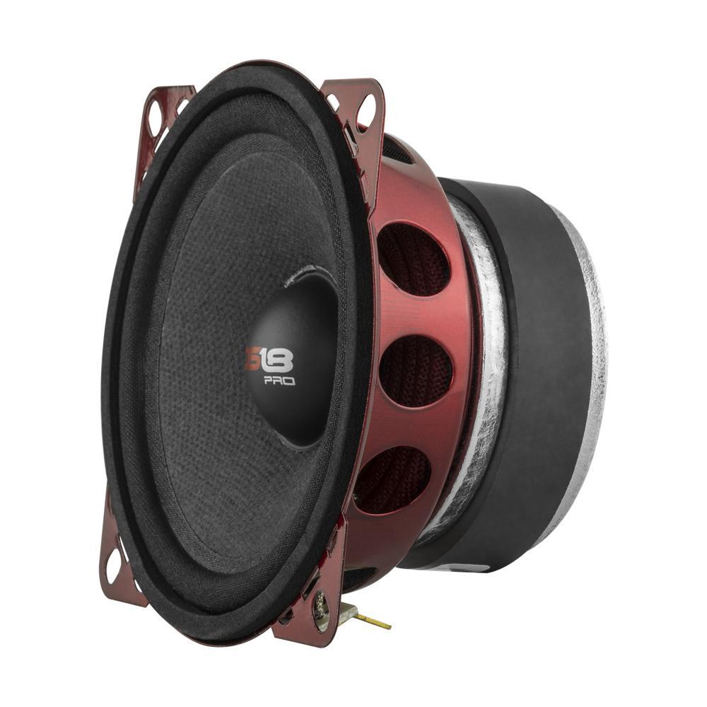 "DS18 PRO-X4M Series Car Audio 4"" Midrange Loudspeaker 200 Watts Max Single"