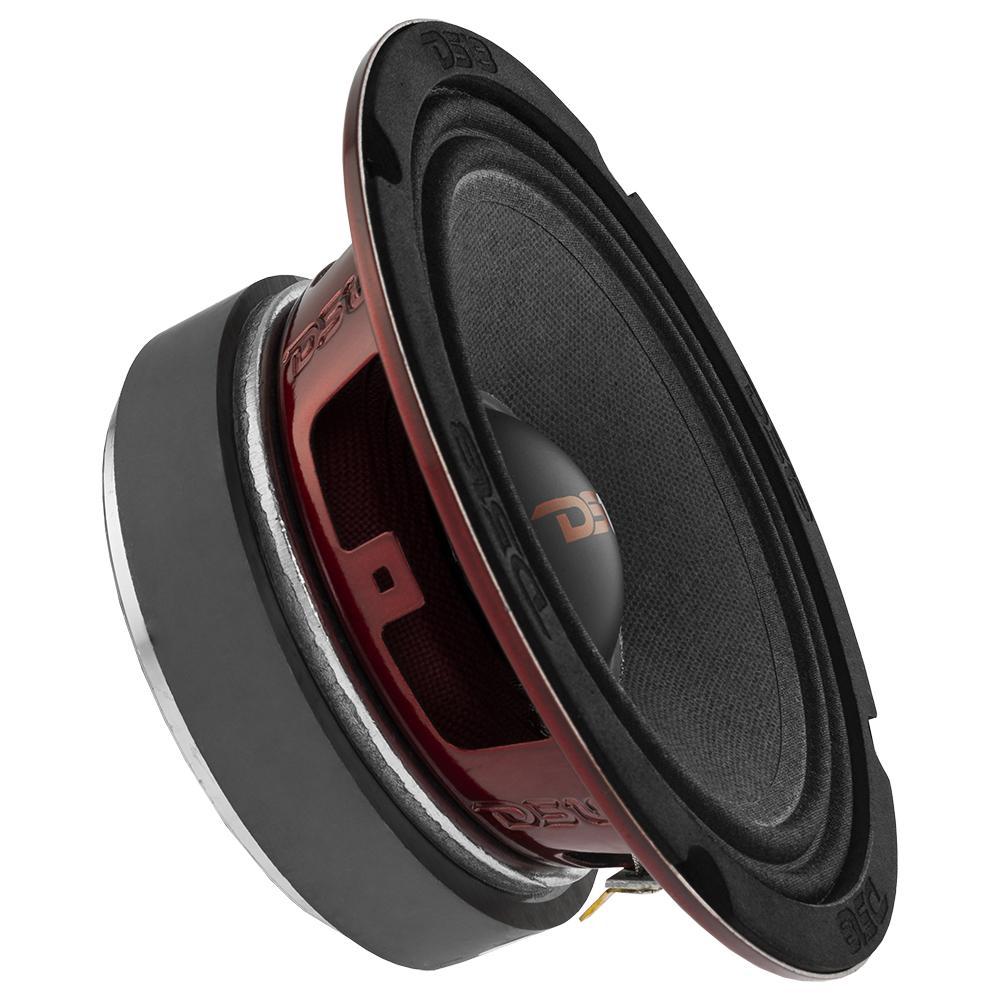 """DS18 PRO-X6.4M In Car Audio Mid Range Bass 6"""" Inch 450 Watt 4 Ohm Speaker"""