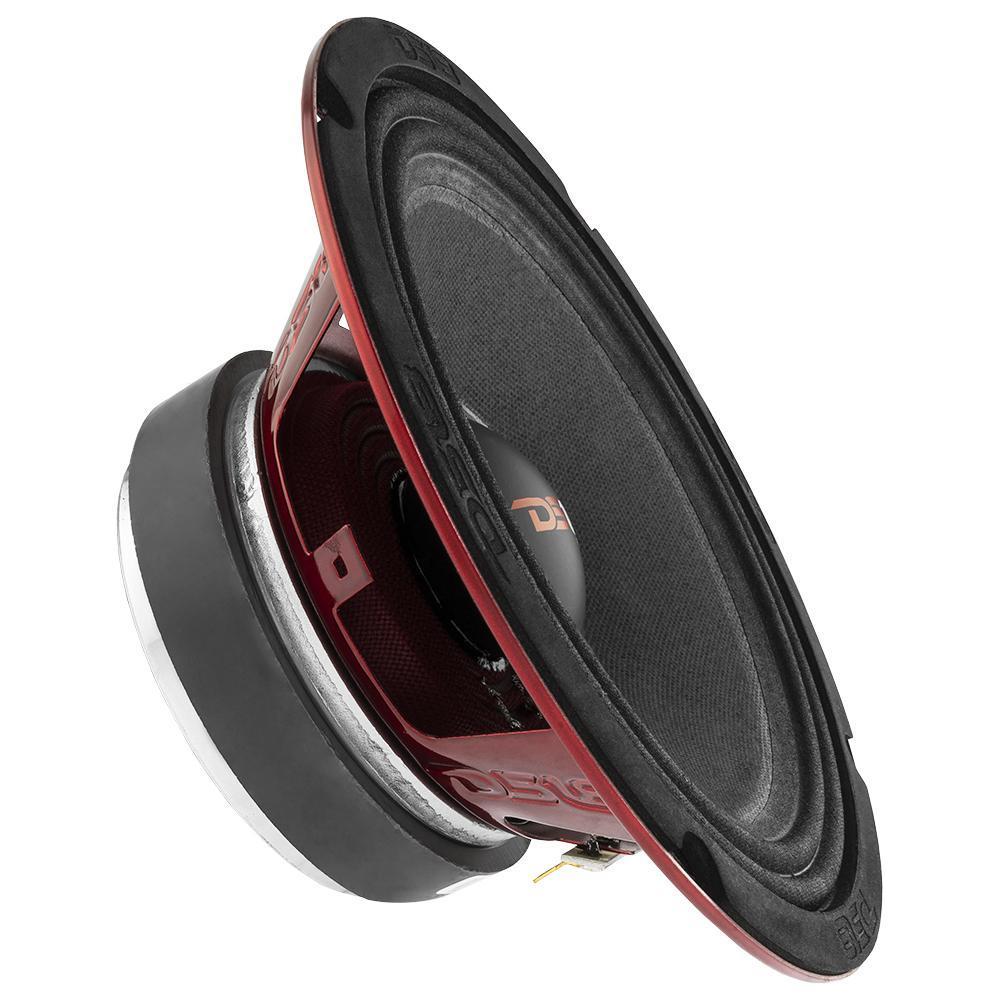 """DS18 PRO-X8.4M In Car Audio Mid Range Bass 8"""" Inch 550 Watt 4 Ohm Speaker"""