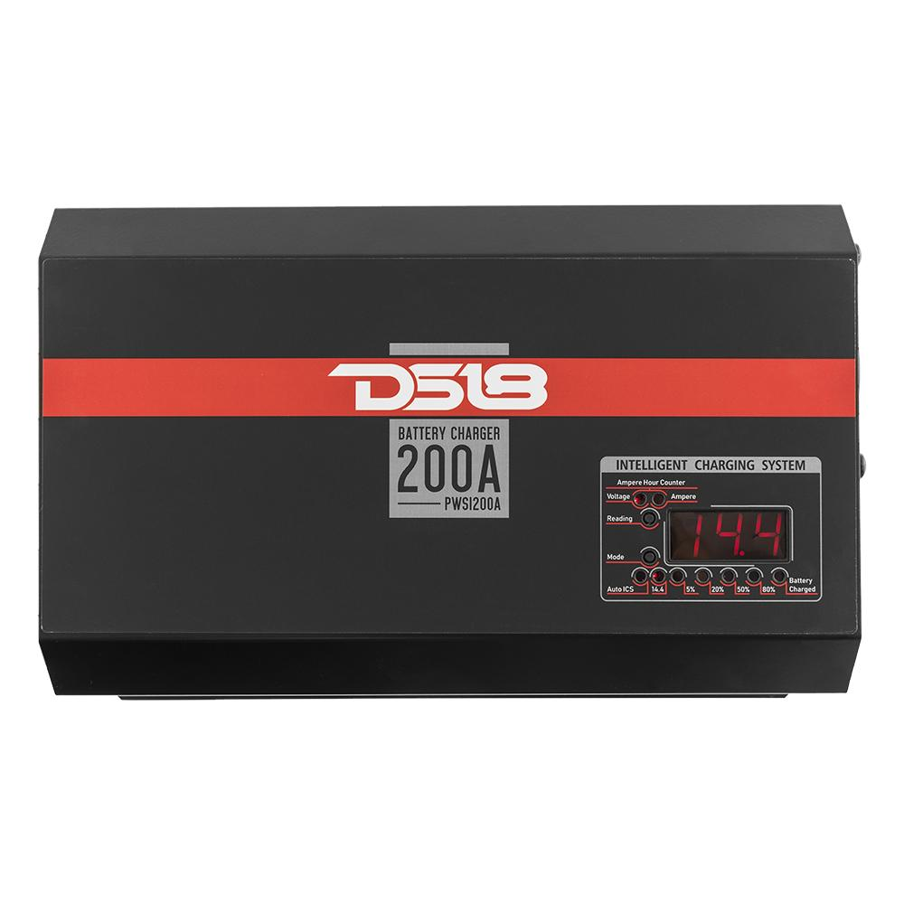 DS18 PWSI200A 200 Amp Intelligent Smart Car Battery Power Supply Charger