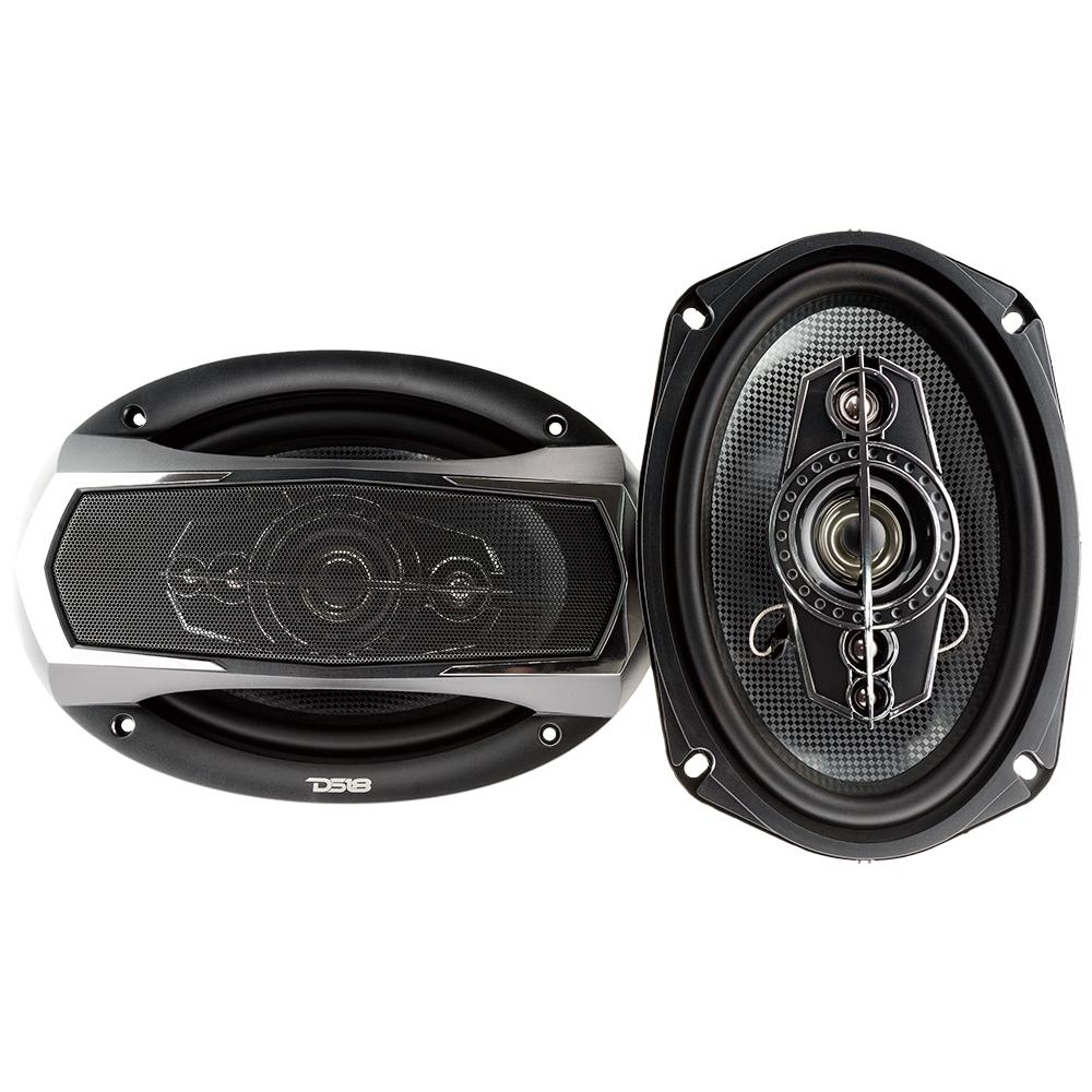 """DS18 SLC-N69X 6x9"""" Inch 260 Watts 5-Way Coaxial Speakers"""