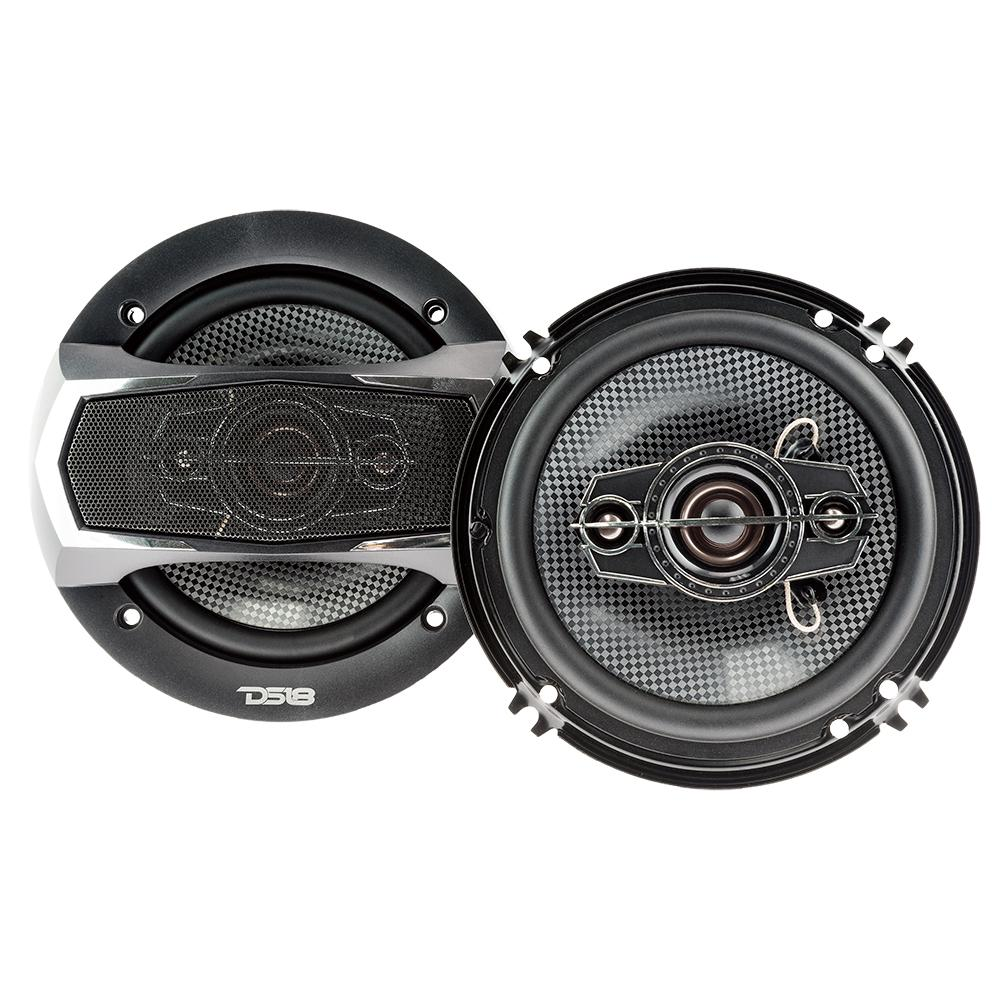 "DS18 SLC-N65X 6"" Inch 200 Watts 4-Way Coaxial Speakers"