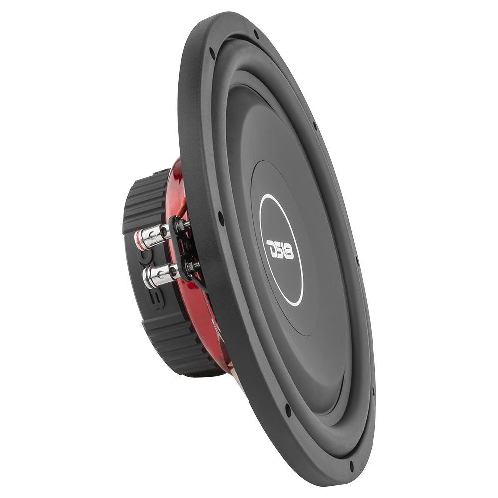 """DS18 SRW12.4D Car Audio 12"""" Inch 900 Watt DVC 4 Ohm Sub Subwoofer SPL SQ"""