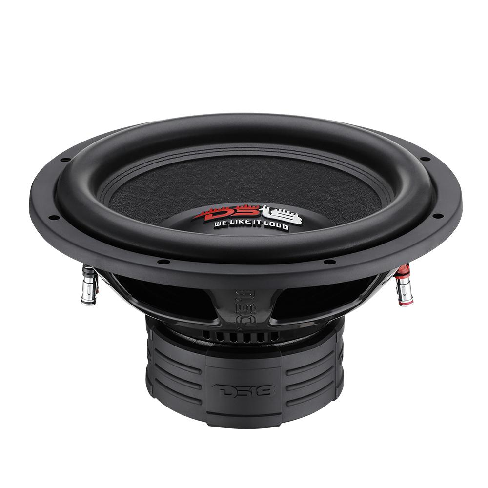 "DS18 Z-VX10 Car Audio 12"" Inch 1200 Watt DVC 4 Ohm Sub Subwoofer SPL SQ"