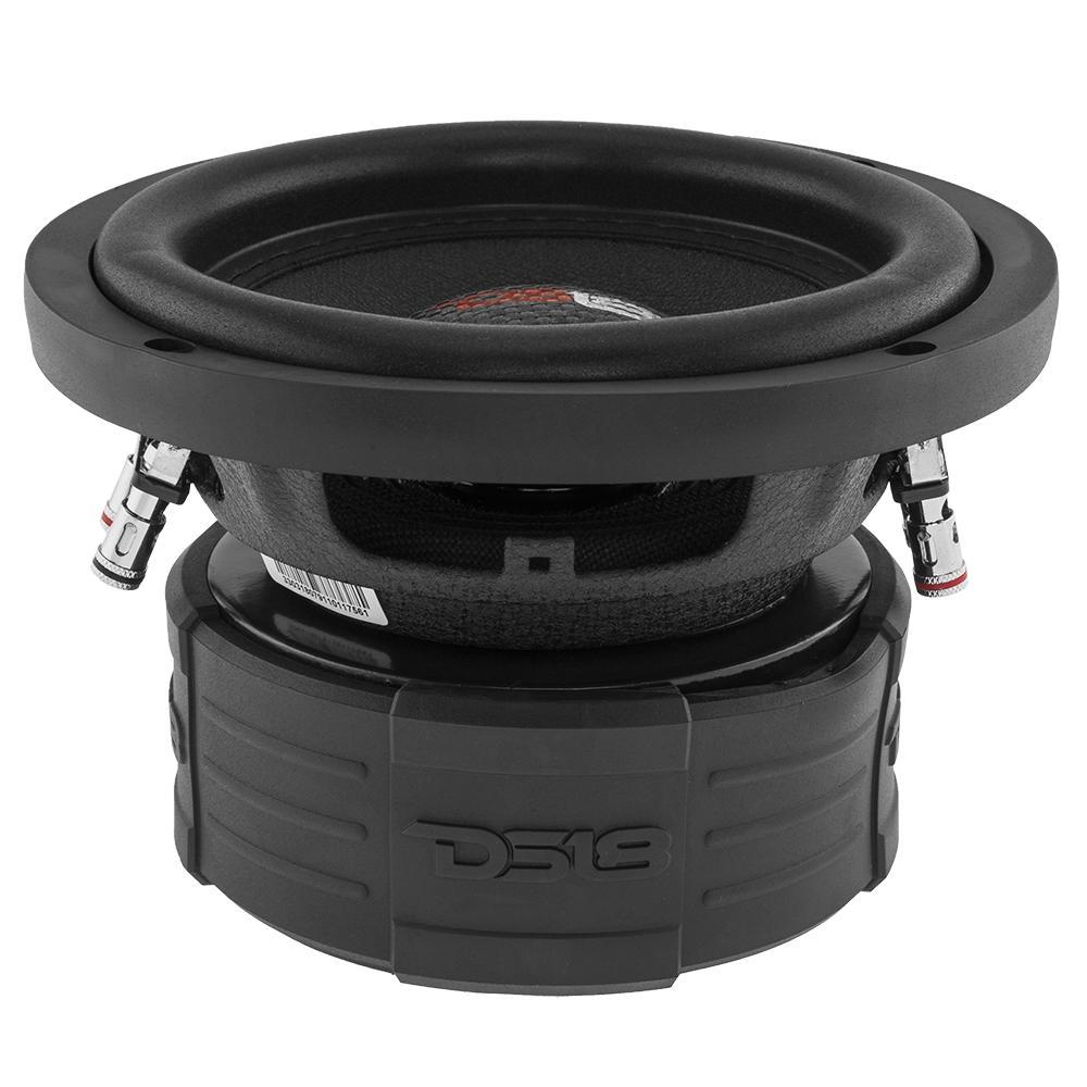 "DS18 Z6 Car Audio 6"" Inch 600 Watt DVC 4 Ohm Sub Subwoofer SPL SQ"