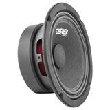 """DS18 PRO-GM6.4 In Car Audio Mid Range Bass 6"""" 480 Watt 4 Ohm Speaker"""