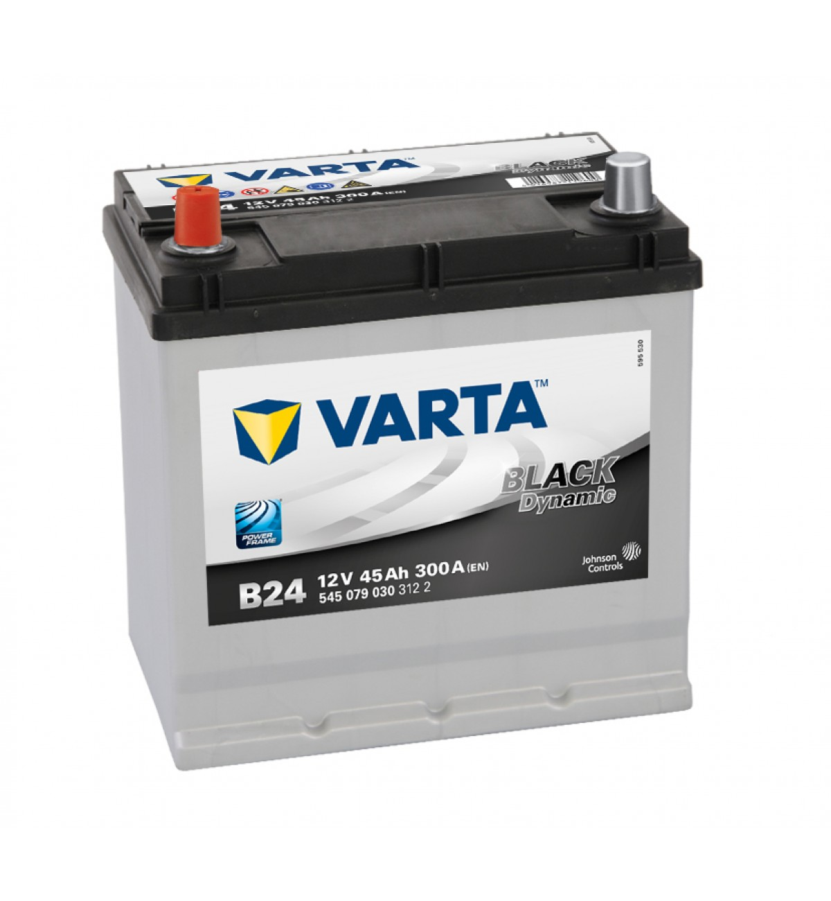 Thompsons Ltd Varta Black B24 Heavy Duty 45ah Car Battery Size Land Rover 049h Renault Mitsubishi