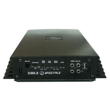Bassface DB2.2 3200w 2/1 Channel Bridgeable High Power Stereo SQ Car Amplifier Thumbnail 3