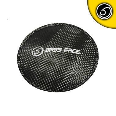 """Bassface SDC.1 Carbon Dust Cap Dustcap Sub Subwoofer Upgrade 4"""" 12cm 120mm Thumbnail 2"""