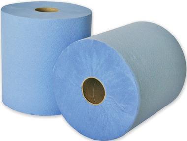 Leonardo FPSBL 2 Ply Blue Towel Roll 150M X 180mm Single Thumbnail 1
