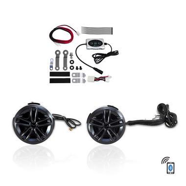 Lanzar OPTIAT94A Opti-Drive Weatherproof Dual Bluetooth Speaker System Thumbnail 2