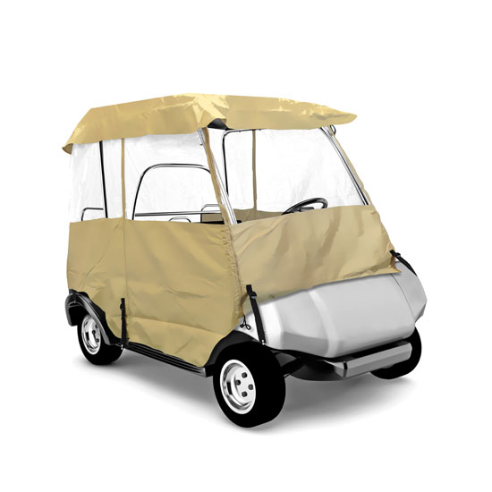 PYLE PCVGCE30 DELUXE 4-SIDE GOLF CART ENCLOSURE, 2 PAS