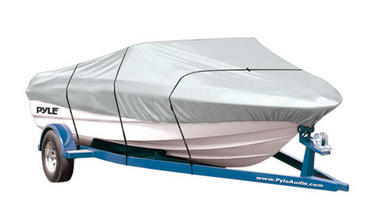 """PYLE PCVTB112 BOAT COVER 14' - 16'LL BEAM WIDTH TO 90"""" Thumbnail 2"""