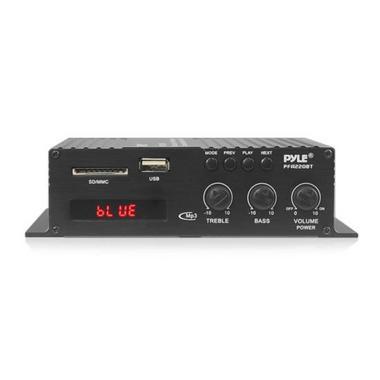 Pyle Compact Bluetooth 120 Watt Power Mini Amplifier Audio MP3/USB/SD 120 Watt Thumbnail 2