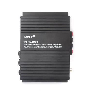 Pyle Compact Bluetooth 120 Watt Power Mini Amplifier Audio MP3/USB/SD 120 Watt Thumbnail 4