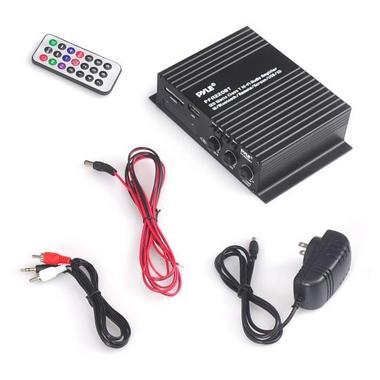 Pyle Compact Bluetooth 120 Watt Power Mini Amplifier Audio MP3/USB/SD 120 Watt Thumbnail 5