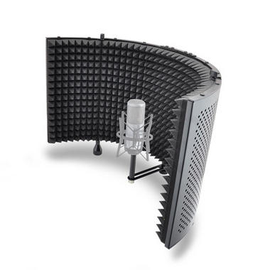 Pyle PSMRS11 Studio Microphone Isolation Shield with Sound Dampening Foam Thumbnail 2