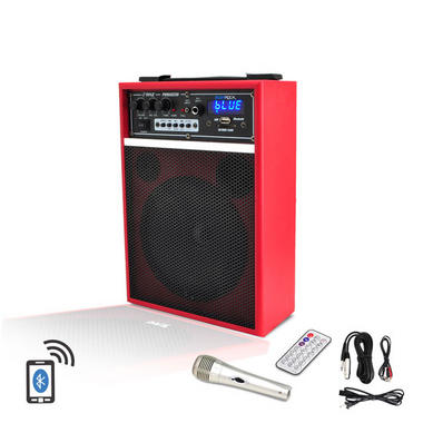 Pyle PWMAB250RD 300w Bluetooth 6.5'' Portable PA Speaker System Rechargeable Thumbnail 2