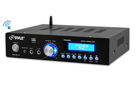 PYLE-HOME PDA5BU STEREO  AMP W/AM/FM BT