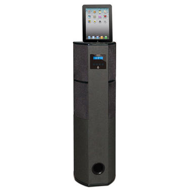 Pyle PHBT98PBK Bluetooth 600-Watt 2.1 Channel Home Theater Tower with 30-Pin iPod, iPhone and iPad Docking Station Thumbnail 2