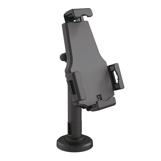 Pyle PSPADLK8 Universal Tamper-Proof Anti-Theft iPad Tablet Kiosk Stand Holder