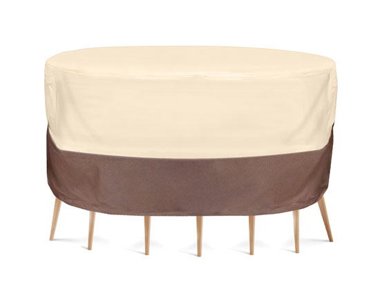 PYLE-HOME PVCTBLCH48 FITS ROUND TABLES AND 6 STANDARD CHAIRS