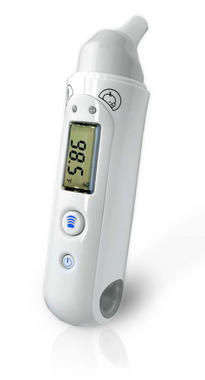 PHTM20BTGR Bluetooth Infrared Ear & Body Digital Thermometer Downloadable Pyle Thumbnail 2