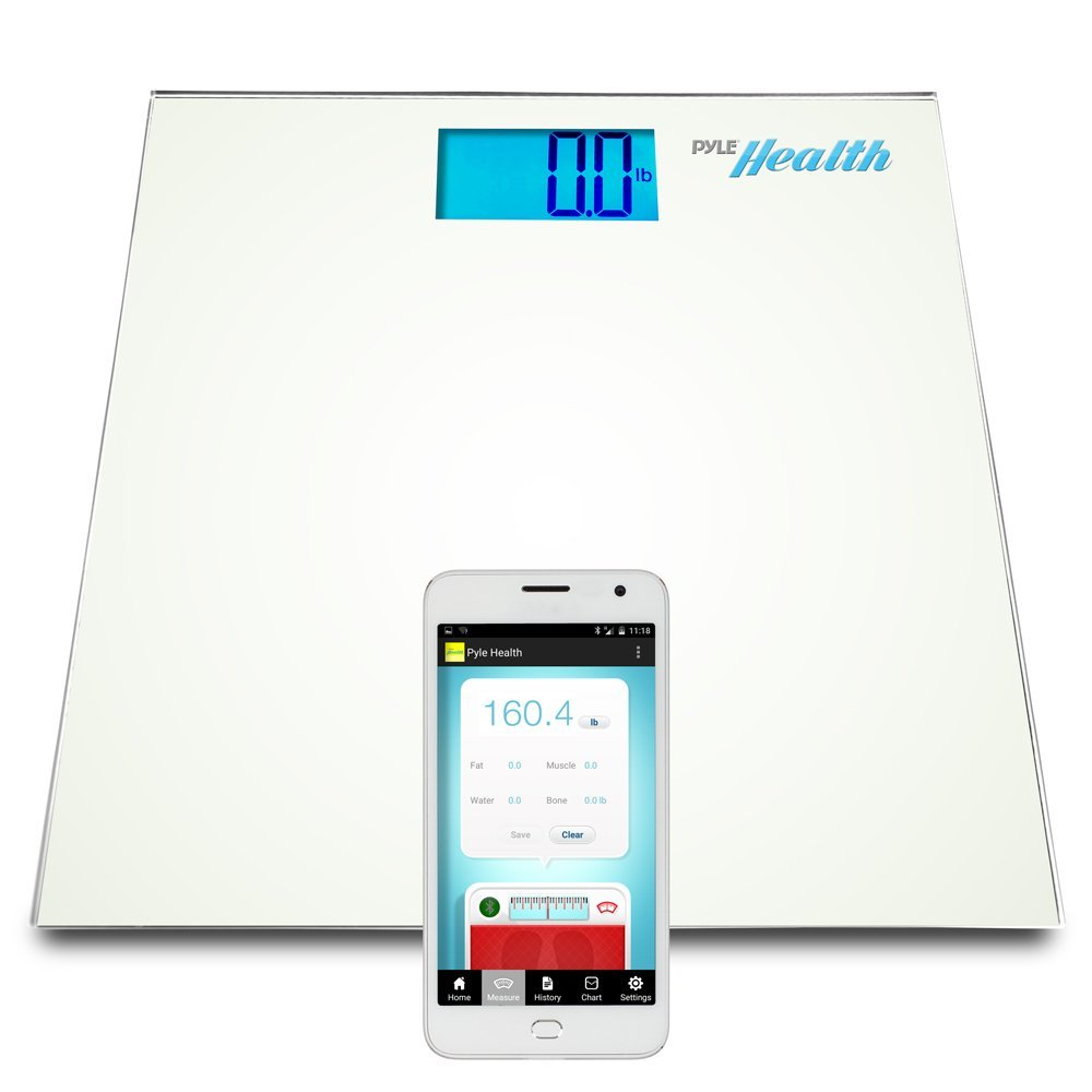 Digital Bluetooth Weight Body  Smart App Wireless Transfer Bathroom Health Scales