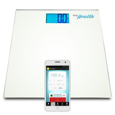 Pyle PHLSCBT2WT Bluetooth Digital Weight Scale Wireless Data Transfer + App Thumbnail 2