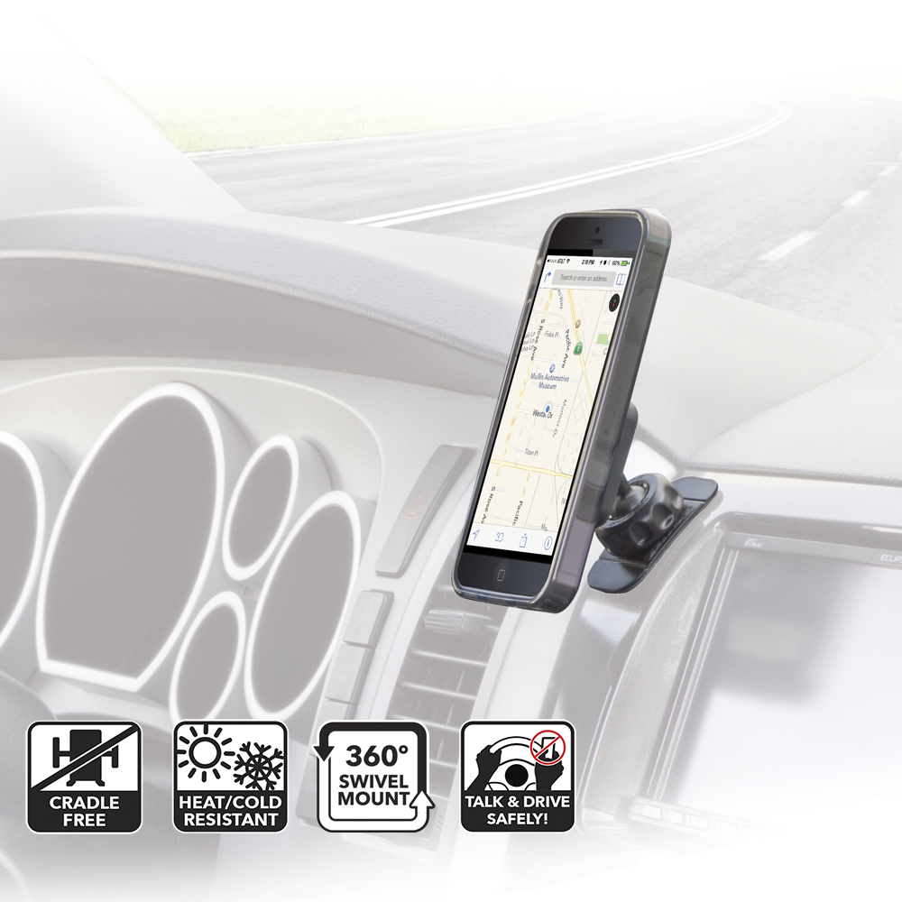 Scosche MAGDMI Magnetic Magic Mount For iPhone HTC Samsung Phone Holder