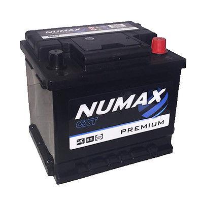 Numax 063 Audi Ford Vauxhall VW Seat MG Car Battery Heavy Duty 12 Volt 41Ah 360CCA