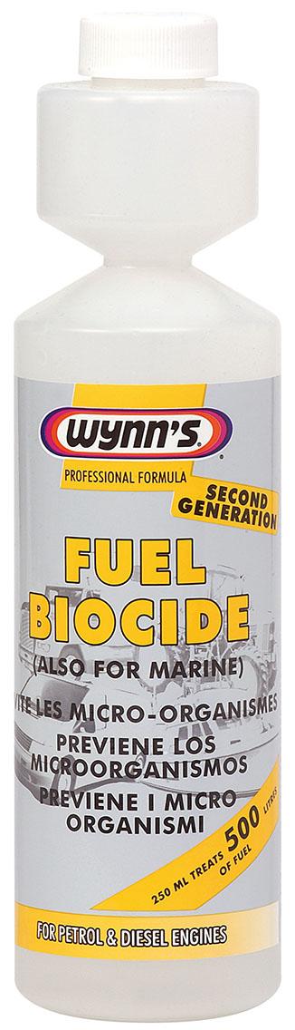 Wynns WY10601 Fuel Cleaning Biocide Bacteria Killer Petrol Diesel 250ml