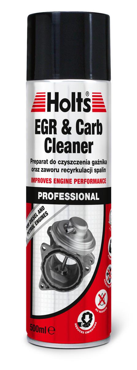 Holts EGR Valve & Carb Cleaner Spray Air Intake Carburettor Clean Petrol Diesel