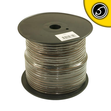 Bassface PWN8.1 CCA 8AWG 8.4mm Black Negative Wire Cable Spool 75m 728 Strand Thumbnail 2
