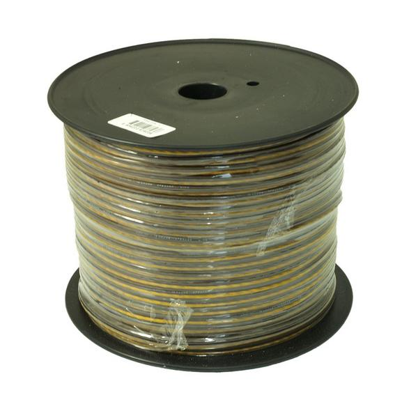 Bassface PSC16.1 150m Roll 16AWG 1.5mm 15% CCA Speaker Cable Wire 112 Strand Thumbnail 2