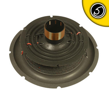 Bassface SPL10.2RC 10 Inch 25cm Car Subwoofer Recone Repair Kit 2x4Ohm DVC Thumbnail 2