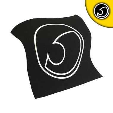 Bassface LP.1 Carpet Logo Panel Trimming Custom Bass Boxes Boot Builds Installs Thumbnail 2