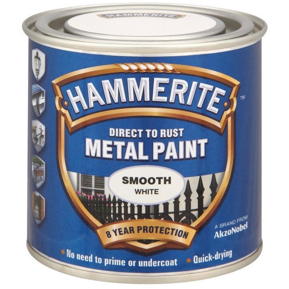 Hammerite 5084857 Smooth White 250Ml