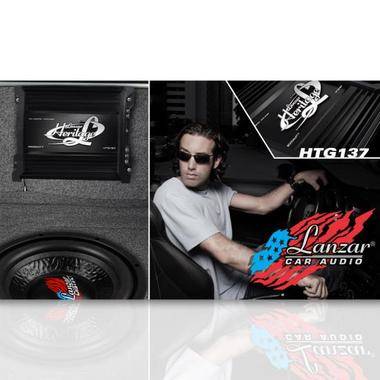 Lanzar 2000w 2 Ohm MonoBlock Car Subwoofer Power Amplifier / Mono Sub Amp Thumbnail 7